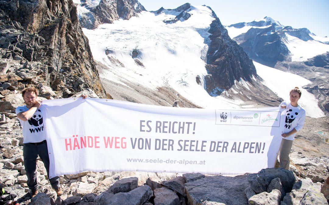 Tiroler Alpinräume in akuter Gefahr