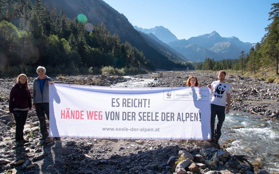 Vorarlbergs alpine Freiräume in Gefahr