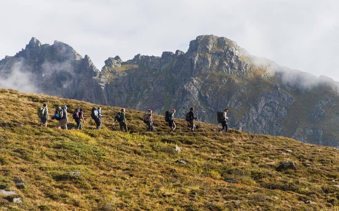 WWF-Jugendnetzwerk wandert für den Schutz der Alpen